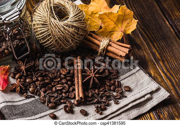 Autumn Spices Still Life - csp41381595