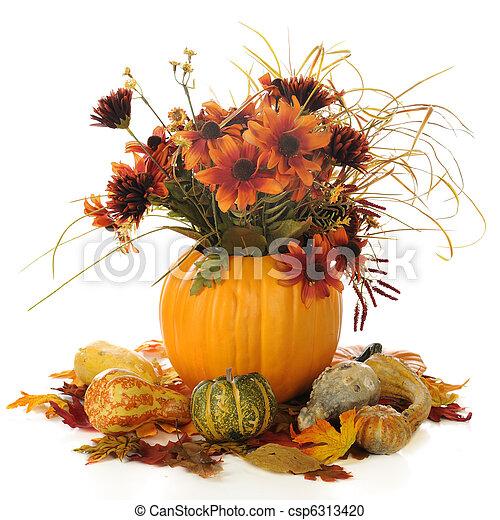 Autumn Still Life - csp6313420