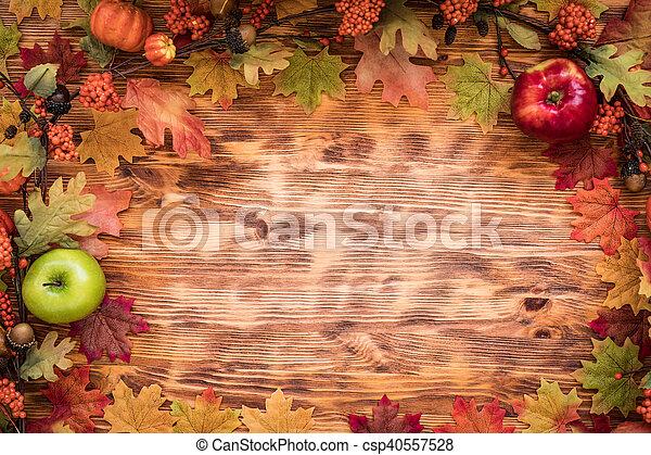 Autumn Thanksgiving Holiday - csp40557528