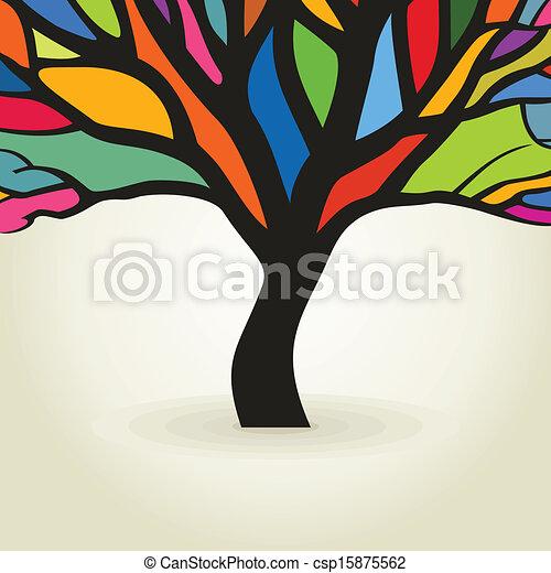 Autumn tree - csp15875562