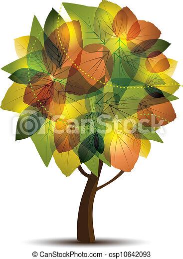 Autumn tree - csp10642093