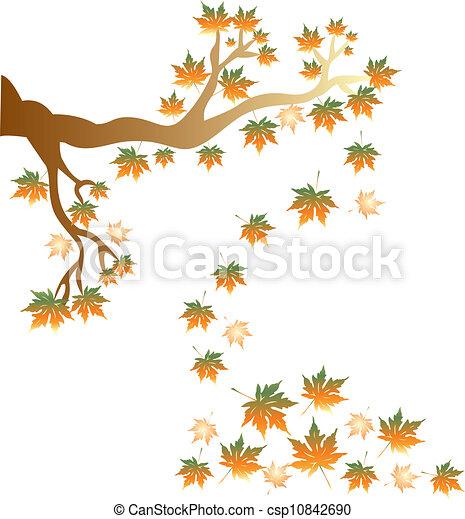 autumn tree - csp10842690