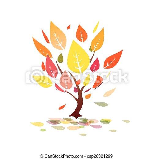 autumn tree - csp26321299
