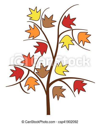 Autumn Tree - csp41902092