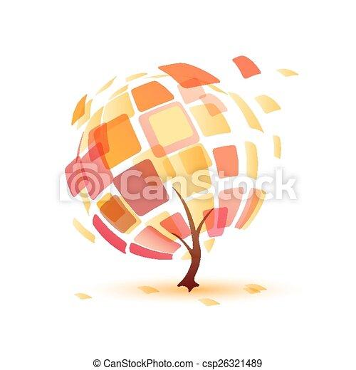 autumn tree - csp26321489