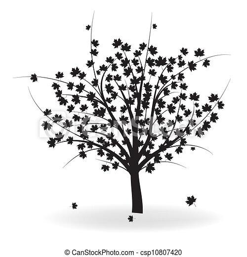 Autumn tree - csp10807420