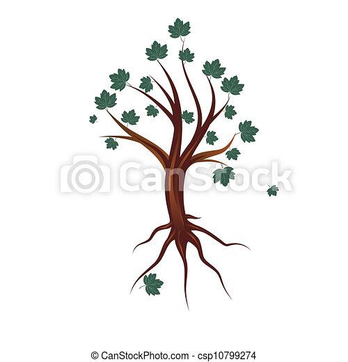 Autumn tree - csp10799274