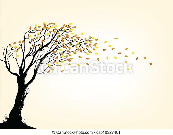 Autumn tree - csp10327401
