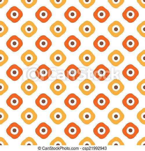 Autumn vector seamless pattern. Endless texture - csp21992943