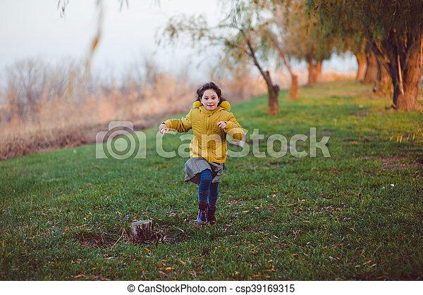 Autumn walk - csp39169315
