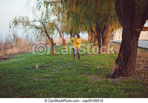 Autumn walk - csp39169316