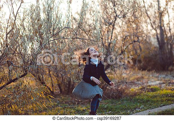 Autumn walk - csp39169287