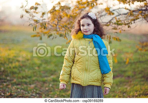 Autumn walk - csp39169289