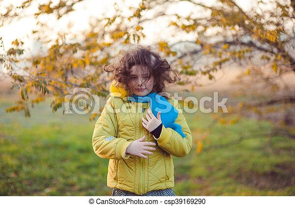 Autumn walk - csp39169290