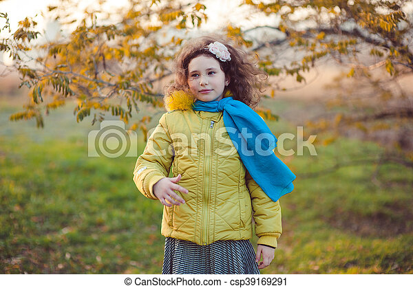 Autumn walk - csp39169291