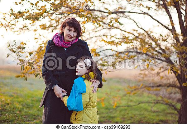 Autumn walk - csp39169293