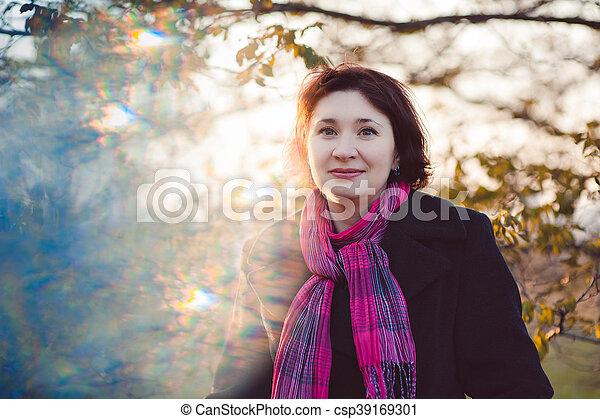 Autumn walk - csp39169301