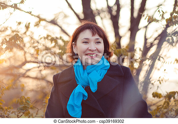 Autumn walk - csp39169302