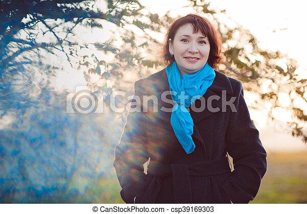 Autumn walk - csp39169303
