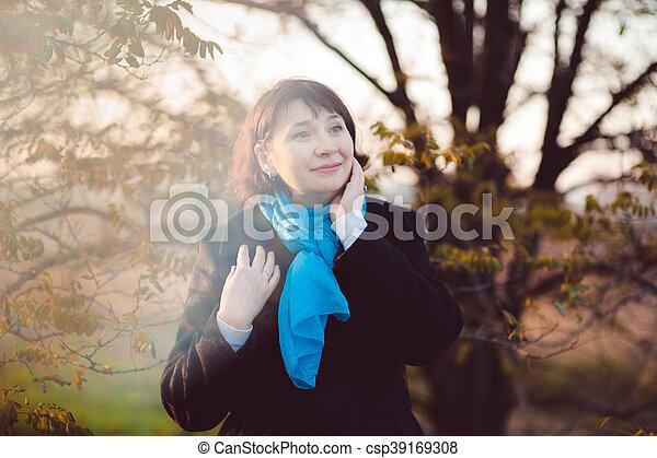 Autumn walk - csp39169308
