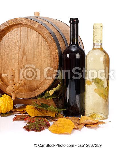 Autumn wine - csp12867259