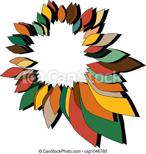 Autumn Wreath - csp1046760