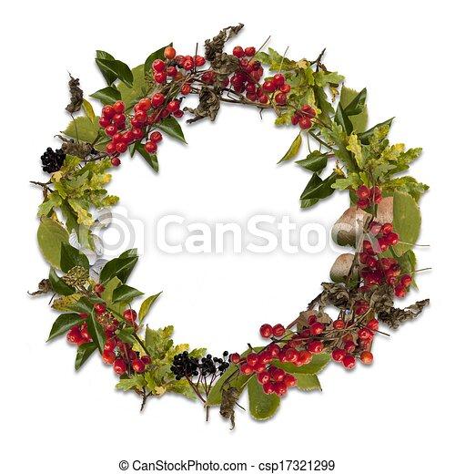 Autumn wreath - csp17321299