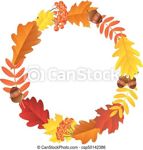Autumn Wreath - csp50142386