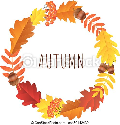 Autumn Wreath - csp50142430