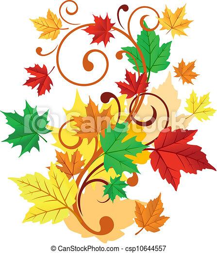 Autumnal background - csp10644557