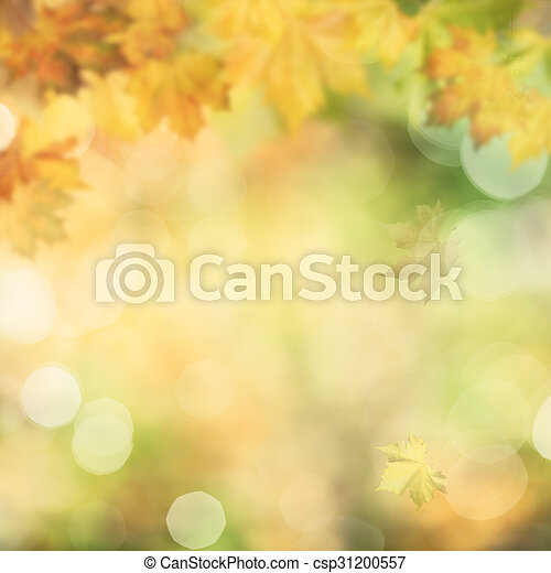 Autumnal fall, abstract environmental backgrounds - csp31200557