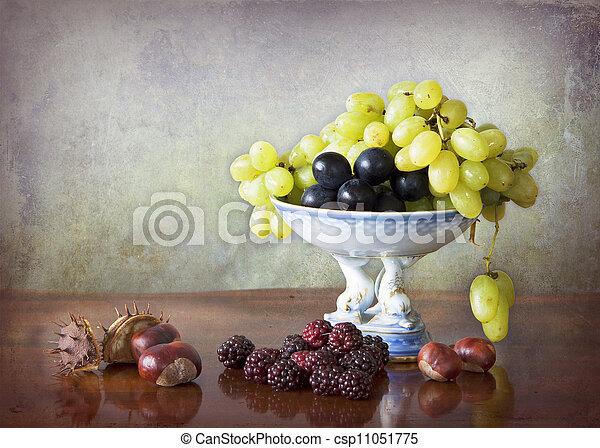 Autumnal fruits - csp11051775