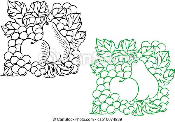 Autumnal harvest - csp10074939