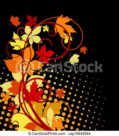 Autumnal leaves - csp10644564
