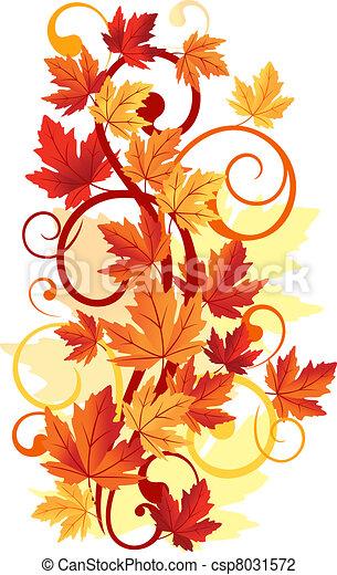 Autumnal leaves - csp8031572