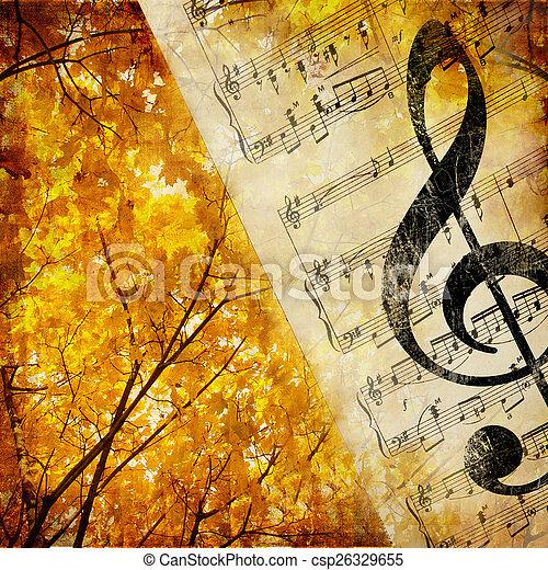 Autumnal Melody - csp26329655