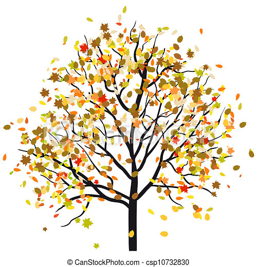 autunno, albero - csp10732830