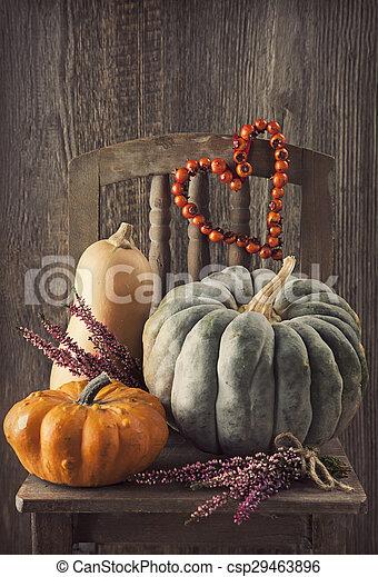 autunno, decorazione - csp29463896