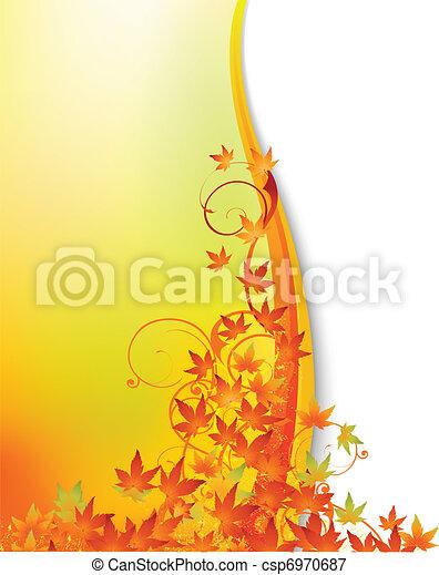 autunno, fondo - csp6970687