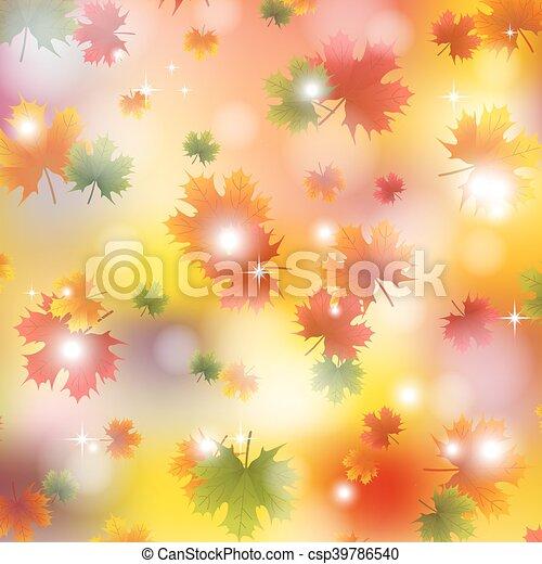 autunno parte, acero, fondo - csp39786540