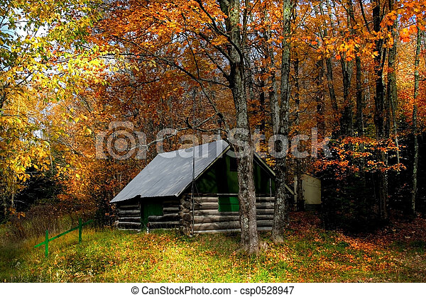 autunno, scena - csp0528947