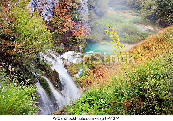 autunno, valle - csp4744874