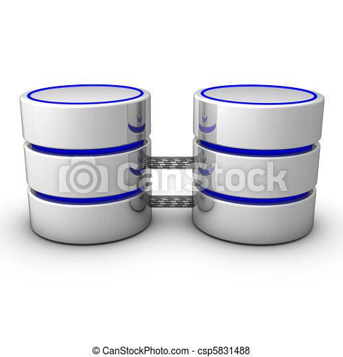 availability., uitbouwingen, weerspiegelende, databank - csp5831488