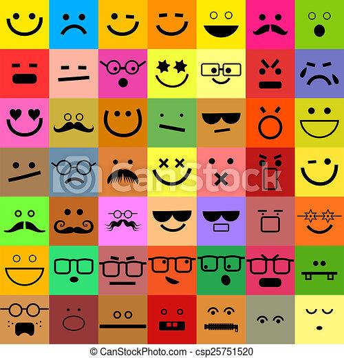 Avatar Emoticon Set - csp25751520