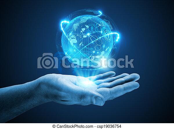 avenir, projeter - csp19036754