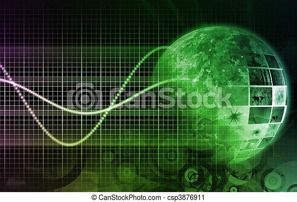 avenir, technologie - csp3876911
