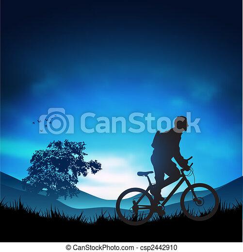 aventura, ao ar livre - csp2442910