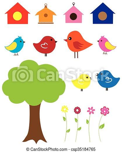 Pájaros - csp35184765