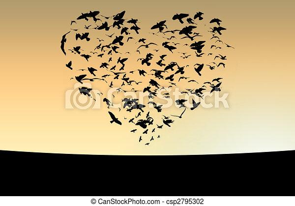 Pájaros - csp2795302