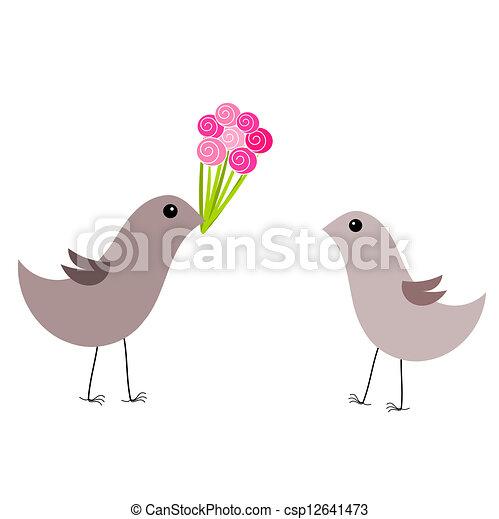 A las aves les encanta - csp12641473